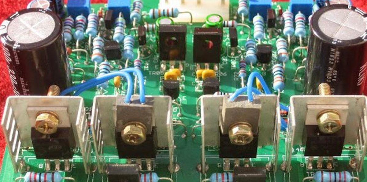 Sansui Vintage Amplifier Resurrection, Creating a Modern F2624 Replacement