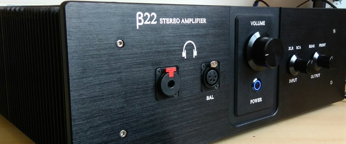 β22 Balanced Stereo Amplifier Build