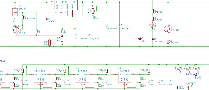 DIY Programmable Power-Supply for Vacuum Tubes – Part 1
