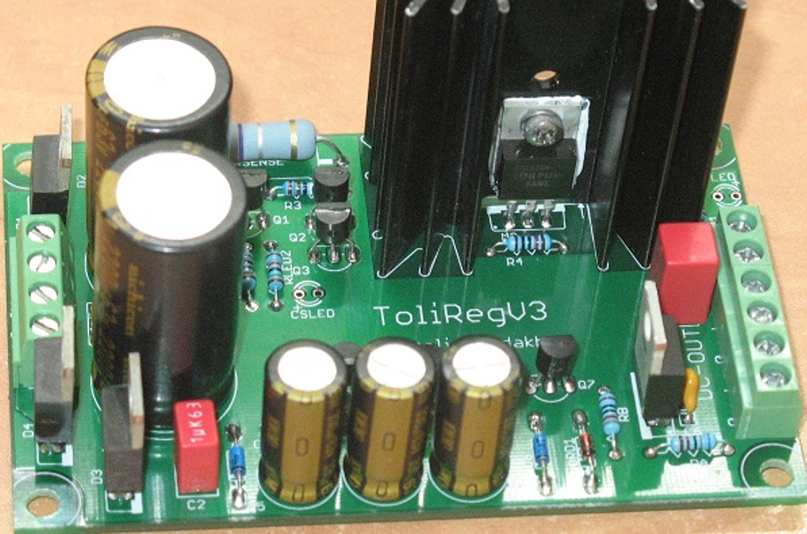 DIY Discrete and Simple Voltage Regulator