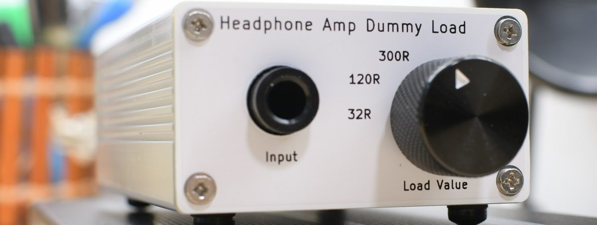 Dummy Load Box for Headphone Amplifiers Testing