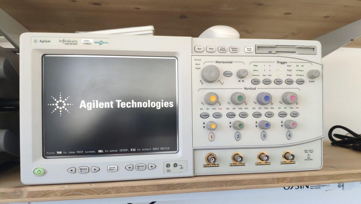 Agilent 54831B Oscilloscope Taming