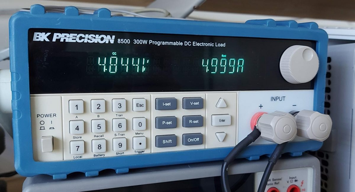 Control Program for BK Precision 8500 DC Electronic Load
