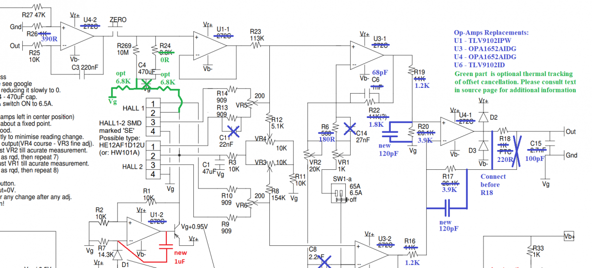 Hantek CC-65 Current Clamp Probe – Part 3 – Signal Chain, Improving BW and Noise
